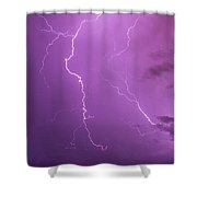 Lightning Totalitty 002 Shower Curtain