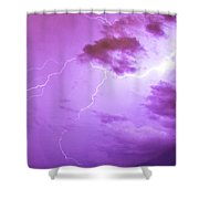 Lightning Totalitty 003 Shower Curtain