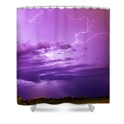 Lightning Totalitty 004 Shower Curtain