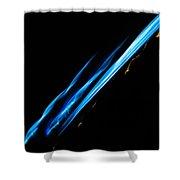 Electric Neon Three Shower Curtain