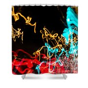 Car Dance Shower Curtain