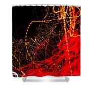 Lightpainting Single Wall Art Print Photograph 2 Shower Curtain