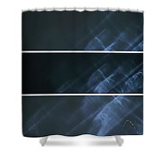 Ghost Smoke Shower Curtain