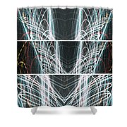 End Of Light Shower Curtain