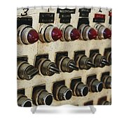 Lights And Switches Shower Curtain