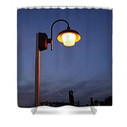 Lights Camera Action Shower Curtain