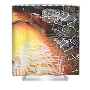 Lights Camera Inaction Ftg0006 Shower Curtain