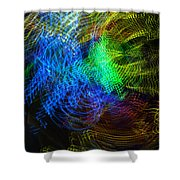 Lights In Motion Shower Curtain