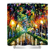 Lights Of Hope Shower Curtain