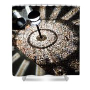 Lights Of The Night By Karen E. Francis Shower Curtain