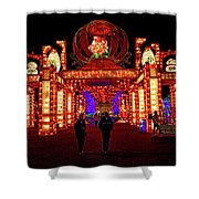Lights Of The World Hallway Of Fortunes Shower Curtain