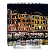 Lights Of Venice Shower Curtain