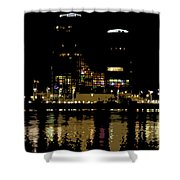 Lights On History Shower Curtain