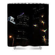 Lights On Tampa Shower Curtain