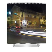 Lights That Race Shower Curtain