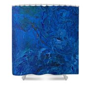 Lightweight Nebula Xxx Shower Curtain
