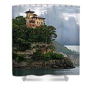 Liguria. Riviera Di Levante  Shower Curtain