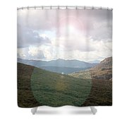 Lihgt In The Sky Shower Curtain