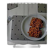 Like-beans Shower Curtain