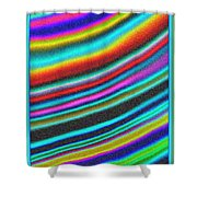 Like Sands Through Time Shower Curtain