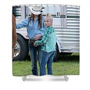 Lil' Cowgirls Shower Curtain