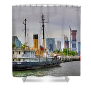 Lilac 354 Shower Curtain