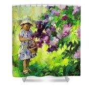 Lilac Festival Shower Curtain