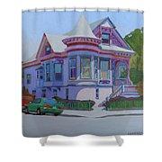 Lilac House, Alameda Shower Curtain