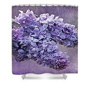 Lilac Spring Shower Curtain