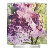 Lilacs - Note Card Shower Curtain