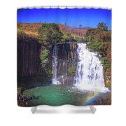 Lili Waterfall  Shower Curtain