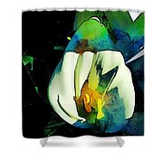 Lilli Shower Curtain by Saifon Anaya