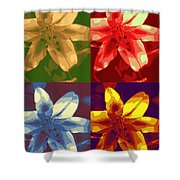 Lillies Of Four Shower Curtain