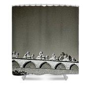 Lilliputian Minarets Shower Curtain