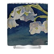Lilly Of The Valley Shower Curtain