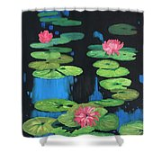 Lilly Pond Shower Curtain