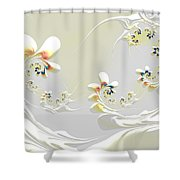 Lily Chains Shower Curtain