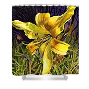 Lily On Display Shower Curtain