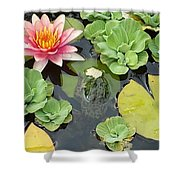 Lily Pad Lunch Shower Curtain