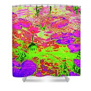Lily Pads And Koi 12 Shower Curtain