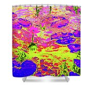 Lily Pads And Koi 18 Shower Curtain