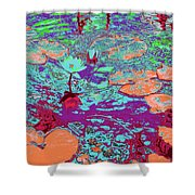 Lily Pads And Koi 24 Shower Curtain