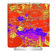 Lily Pads And Koi 29 Shower Curtain