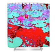 Lily Pads And Koi 7 Shower Curtain
