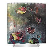 Lily Pads5 Shower Curtain