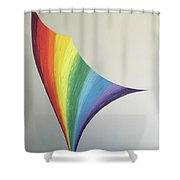 Lily Prism #8 Shower Curtain