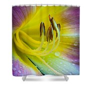 Lily Universe Shower Curtain
