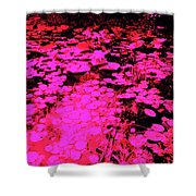 Lilypad 13 2 Shower Curtain