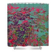Lilypad 13 9 Shower Curtain