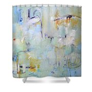 Lilypad Pond Shower Curtain